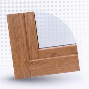 Fenêtre pvc semblable à celle du bois PROFERM 06