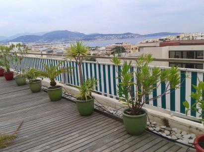 Cache-balcon, brise-vue, prélat pour balcon ou terrasse à Nice