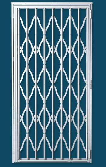 grille extensible de s curit sur nice et cagnes sur mer grille articul e nice avec rail. Black Bedroom Furniture Sets. Home Design Ideas