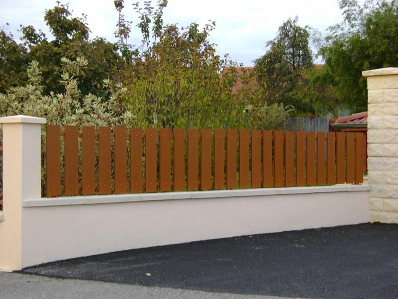 Cl ture pour jardin en bois alu ou pvc proferm 06 for Specialiste cloture