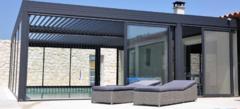 Pergola bioclimatique aluminium Nice PROFERM06